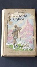Manuali Hoepli FOTOGRAFIA TURISTICA Zanghieru 1908 1°Ed. ottimo