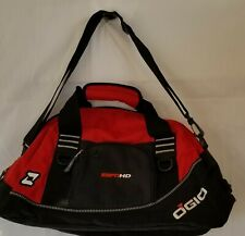 "OGIO ESPN HD 20"" Red Zipper Sports Duffel Bag w/ Shoulder strap, Side Pocket New"