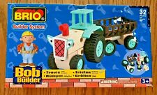 BRIO Bob the Builder Travis and Trailer 32810 New in box 2001 HARD TO FIND