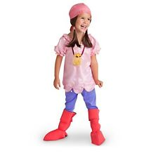 Disney Store Izzy Costume for Girls - Jake and the Never Land Pirates Size 5/6