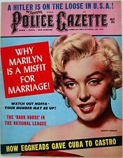 "1961 Fine MARILYN MONROE Front MAGAZINE COVER & PHOTO ARTICLE - ""UNTOLD FACTS"""