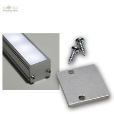 conclusion-plaque pour Profil en Aluminium-U plat pas tous voir Caractéristiques
