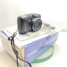 Canon PowerShot SX110 IS 9.0MP Digital Camera BLACK 10 X Optical Zoom Boxed #474