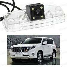 4 LED Car Rear View Camera Reverse Backup CCD for Toyota Land Cruiser 200 07-15