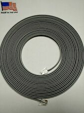 Loconet, DCC Cable for Digitrax, NCE, Walthers and more 25 foot cable w/plugs