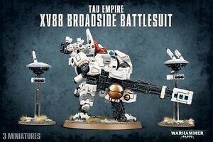 WARHAMMER 40K - TAU EMPIRE XV88 BROADSIDE BATTLESUIT