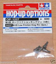 Tamiya 54237 M05 faible frottement King Pin (4 pcs.) (TA04/TA05/M-05/M06/DF03/TB02)