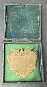 P5444.Military Pershing stadium Paris 1919 baseball second PVT Larry Carmel repr