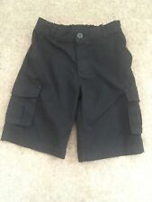 George Boys School Cargo Shorts 6-7 Years Charcoal