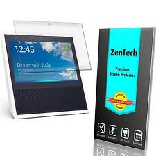 2X ZenTech® Ultra Clear Screen Protector Guard Shield Saver For Amazon Echo Show