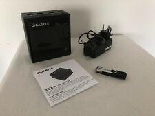GIGABYTE BRIX Ultra Compact PC Kit 3160 8 GB RAM 512 GB SSD Win 10 Pro Mini-PC