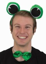 Green Frog Set Eyes On A Headband Bowtie Animal Kit Adult Costume Accessory