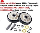 For Maytag Dryers models Listed Roller Belt Pulley Kit Compatible Brand Is Mayta photo