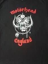FREE SAME DAY SHIPPING NEW CLASSIC OLD SCHOOL MOTORHEAD ENGLAND SHIRT MEDIUM