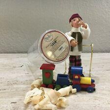 "Byers Choice Kindle Creations Loco Train Toy Genius 02 Nip 7 00006000 .5""H"