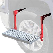Adjustable Truck Tire Step RV SUV Hitchmate Mounted Tirestep Over Wheel Platform