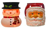 Aromatize 14.5cm Christmas Electric Wax Melt / Oil Burner - Santa or Snowman