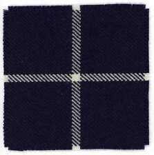 DOUGLAS WOOL TARTAN SWATCH for CAMERONIANS (SCOTTISH  RIFLES) REGIMENT CAP BADGE