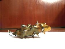 Antique German 1890s Heavy Glass Christmas Ornament Pine Cone  Absolutely RARE