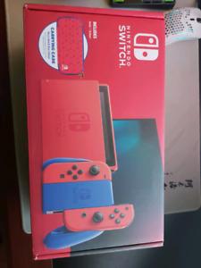 Nintendo Switch HAC-001(-01) Mario Red & Blue Edition - 32GB