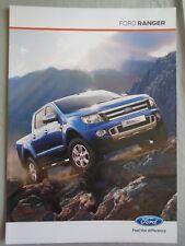 Ford Ranger range brochure Oct 2011 Irish market