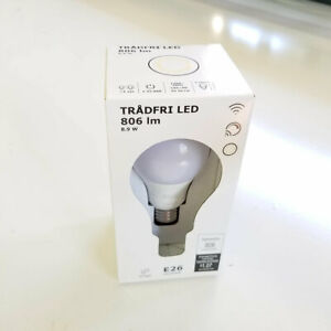 IKEA TRÅDFRI LED bulb E26 806 lumen, wireless dimmable warm white/globe zigbee