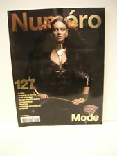 BRAND NEW: NUMERO FASHION MAGAZINE #127 OCTOBRE 2011 WITH KARMEN PEDARU COVER