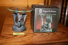 Elegant Expressions by Hosley Dragon Fragrance Oil Warmer Tea Light Product