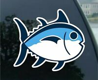 "4"" Southern Tide Fish Vinyl Bumper Sticker Car Truck Window/boat Decal 4"""