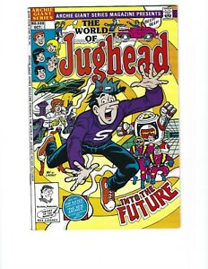 Archie Giant Series Magazine #590 The World Of Jughead Promo Variant HTF FVF