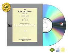 The Book of Jasher, Ancient, testimonies, notes, Bibliographical etc Book On CD