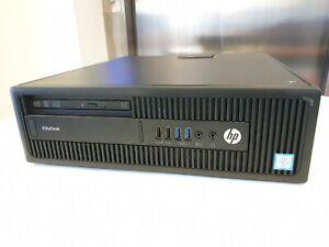 HP EliteDesk 800 G2 SFF Desktop PC i5-6600 (6GEN) 8GB DDR4 RAM 500GB HDD  W10P