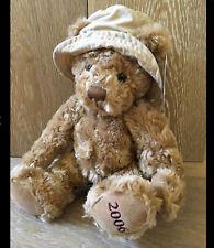 ❤️ NEW BURBERRY Fragrance 2006 Teddy Bear With Nova Check Sun Hat