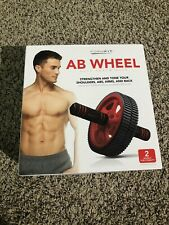 Formfit AB WHEEL Roller Abdominal Fitness Home Gym Exercise Core Training *NEW*