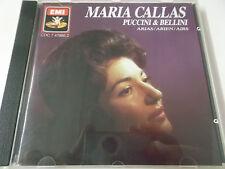 37786 - MARIA CALLAS - PUCCINI & BELLINI ARIAS - EMI MONO CD ALBUM MADE IN U.K.