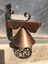 Edle, dekorative Wandleuchte, mit Holz, rustikal Wandlampe
