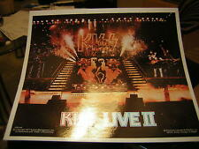 KISS STICKER 1977 ALIVE 2 OFFICIAL ACE FREHLEY GENE SIMMONS PAUL STANLEY