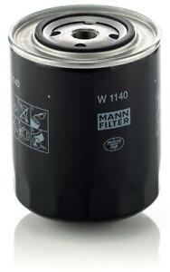 Mann-filter Oil Filter W1140 fits FIAT 130 130 3.2 (B) 3.2 (BC)