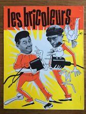 LES BRICOLEURS avec Darryl COWL Francis BLANCHE de Jean GIRAULT - Synopsis