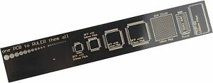 PCB Ruler Resistor Capacitor Chip IC SMD Diode Transistor Measuring Tool 15cm