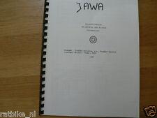J0010 JAWA---ERSATZTEIL KATALOG 90cc CROSS----MODEL