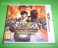 SUPER STREET FIGHTER IV 3D EDITION NUEVO Y PRECINTADO PAL ESPAÑA NINTENDO 3DS