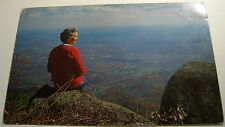 United States Sharp top Mountain Blue Ridge Parkway Virginia - posted 1957