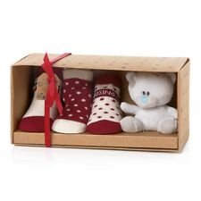 ME to You-Baby Safe Teddy Bear & tre paia di calzini regalo G92Q0154