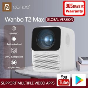Xiaomi Wanbo Global Version  T2 Max LCD Projector 1080P Correction Home Theater