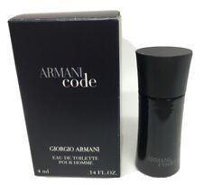 MINI - ARMANI CODE GIORGIO ARMANI MEN EDT MINIATURE SPLASH 4 ML NEW IN BOX