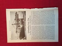 m12v ephemera 1950s article travelling transporters in birkenhead dock