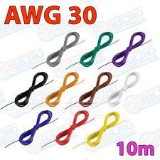 Rollo 10m Cable hilo AWG30 varios colores a escoger - Arduino Electronica DIY