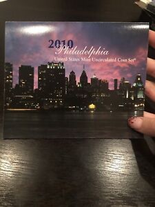 2010 Philadelphia U.S. Mint Uncirculated Coin Set