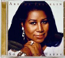 "ARETHA FRANKLIN ""So   Damn   Happy""  + 12 Page Booklet • Arista CD 2003"